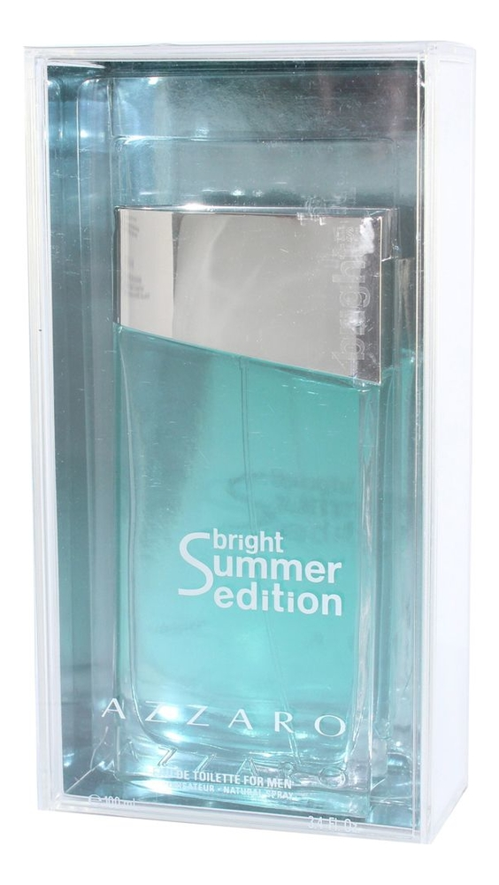 Azzaro Visit Bright Summer Edition: туалетная вода 100мл loris azzaro azzaro pour elle туалетные духи тестер 75 мл