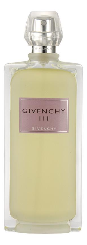 Givenchy Givenchy III: туалетная вода 100мл тестер