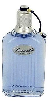 Faconnable Stripe Men : туалетная вода 100мл тестер faconnable faconnable femme