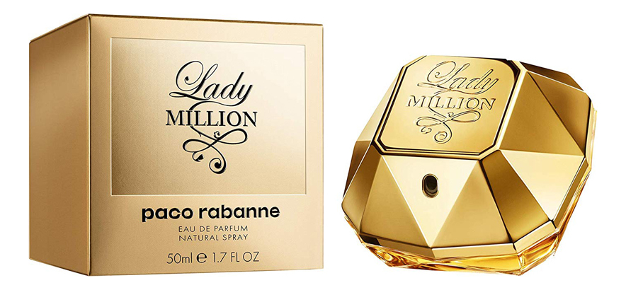 Paco Rabanne Lady Million: парфюмерная вода 50мл