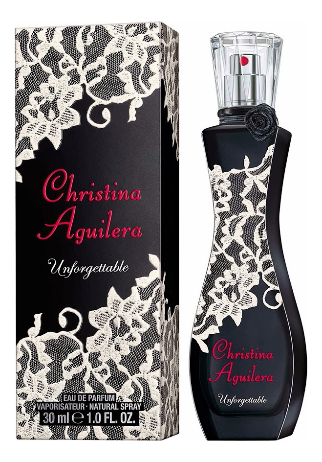 Christina Aguilera Unforgettable: парфюмерная вода 30мл цена 2017