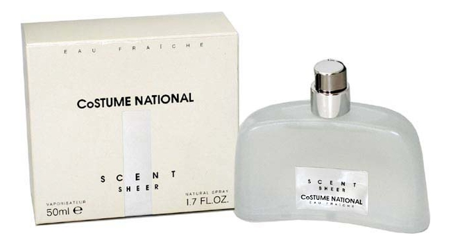 CoSTUME NATIONAL Scent Sheer: парфюмерная вода 50мл