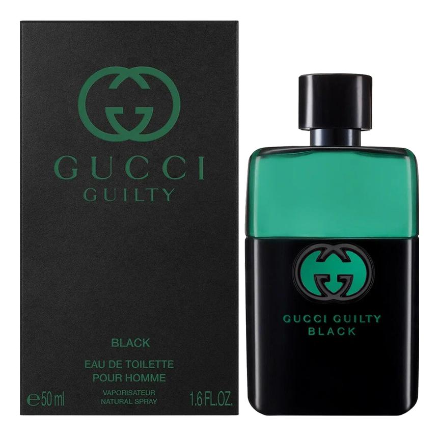 Gucci Guilty Black Pour Homme: туалетная вода 50мл gucci guilty black pour homme туалетная вода