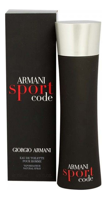 Code Sport men: туалетная вода 125мл туалетная вода giorgio armani armani code 75 мл