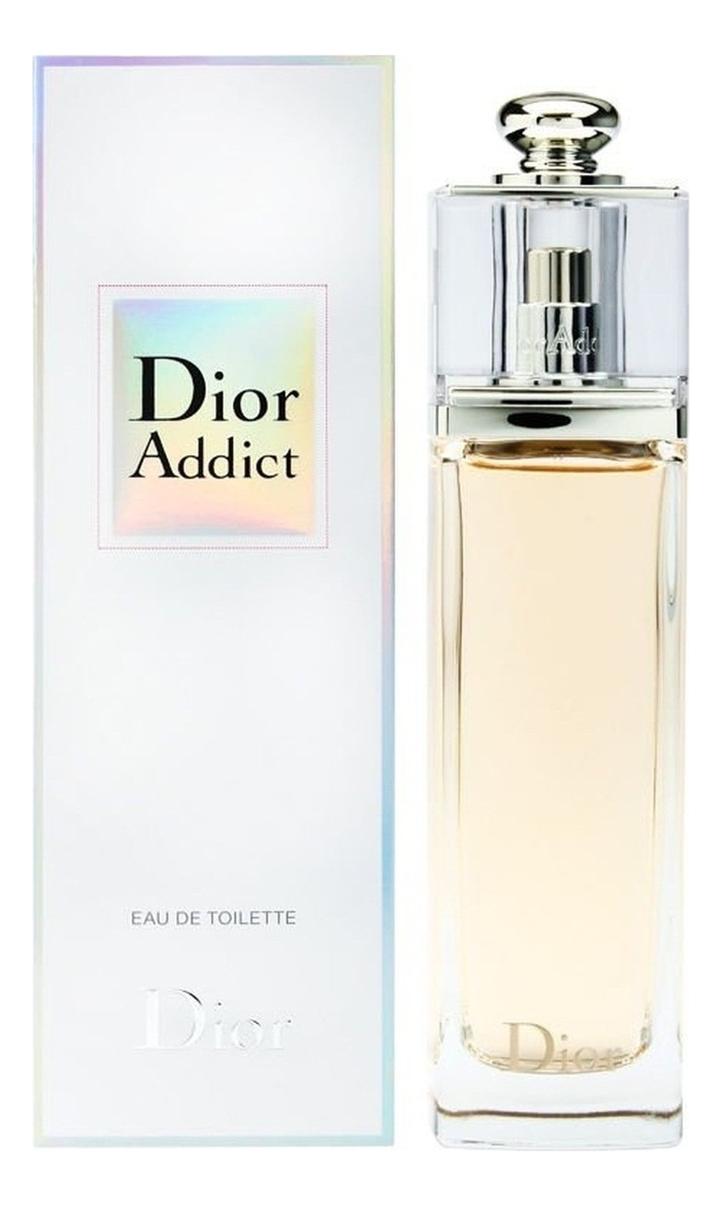 Christian Dior Addict Eau de Toilette 2014: туалетная вода 100мл