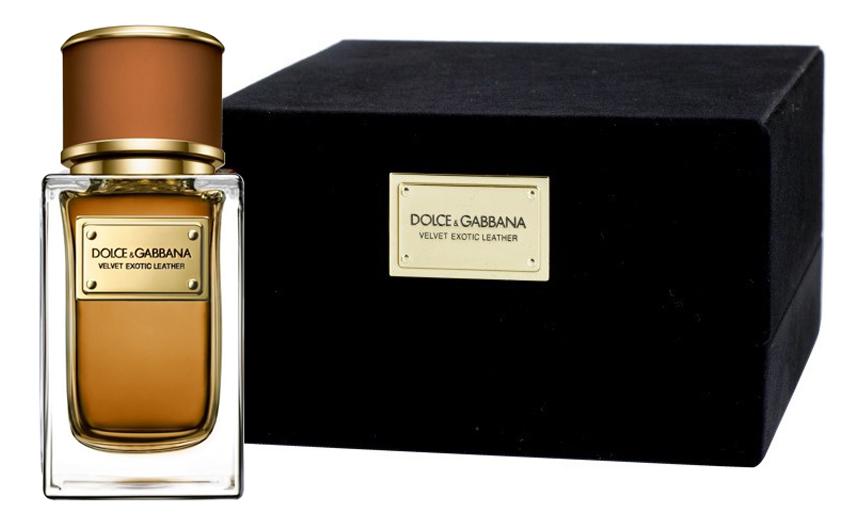 Dolce Gabbana (D&G) Velvet Exotic Leather: парфюмерная вода 50мл