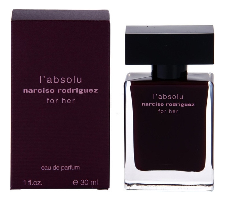 Narciso Rodriguez For Her L'Absolu: парфюмерная вода 30мл narciso rodriguez narciso парфюмерная вода 30мл
