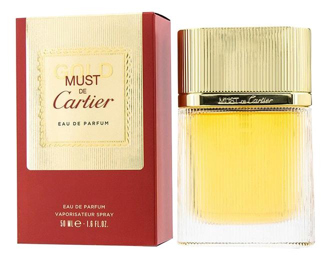 Cartier Must de Cartier Gold: парфюмерная вода 50мл cartier must de cartier туалетная вода 100 мл