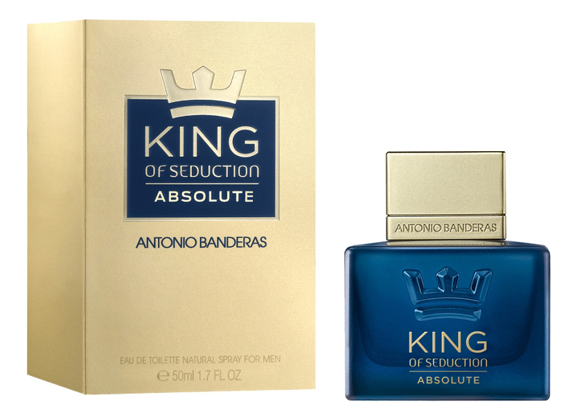 King Of Seduction Absolute: туалетная вода 50мл туалетная вода antonio banderas king of seduction absolute 50 мл