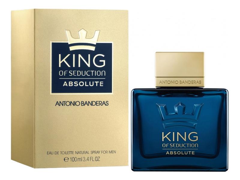 King Of Seduction Absolute: туалетная вода 100мл туалетная вода antonio banderas king of seduction absolute 50 мл