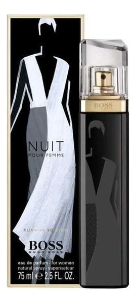 Boss Nuit Pour Femme Runway Edition: парфюмерная вода 75мл