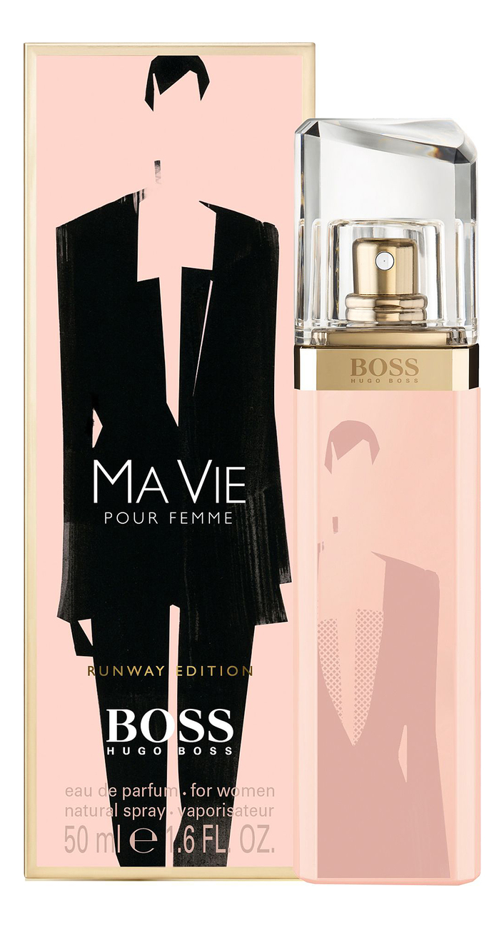 Boss Ma Vie Pour Femme Runway Edition: парфюмерная вода 50мл boss ma vie l eau туалетная вода 75мл