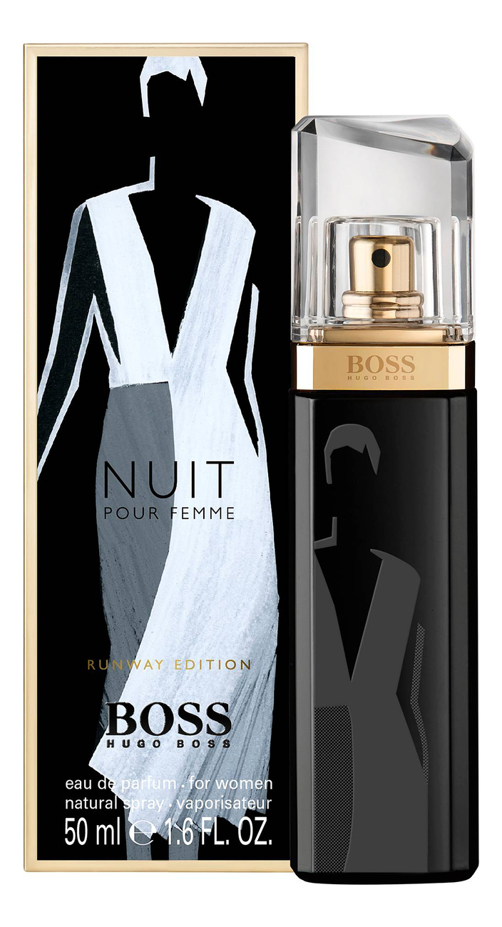 Hugo Boss Nuit Pour Femme Runway Edition: парфюмерная вода 50мл
