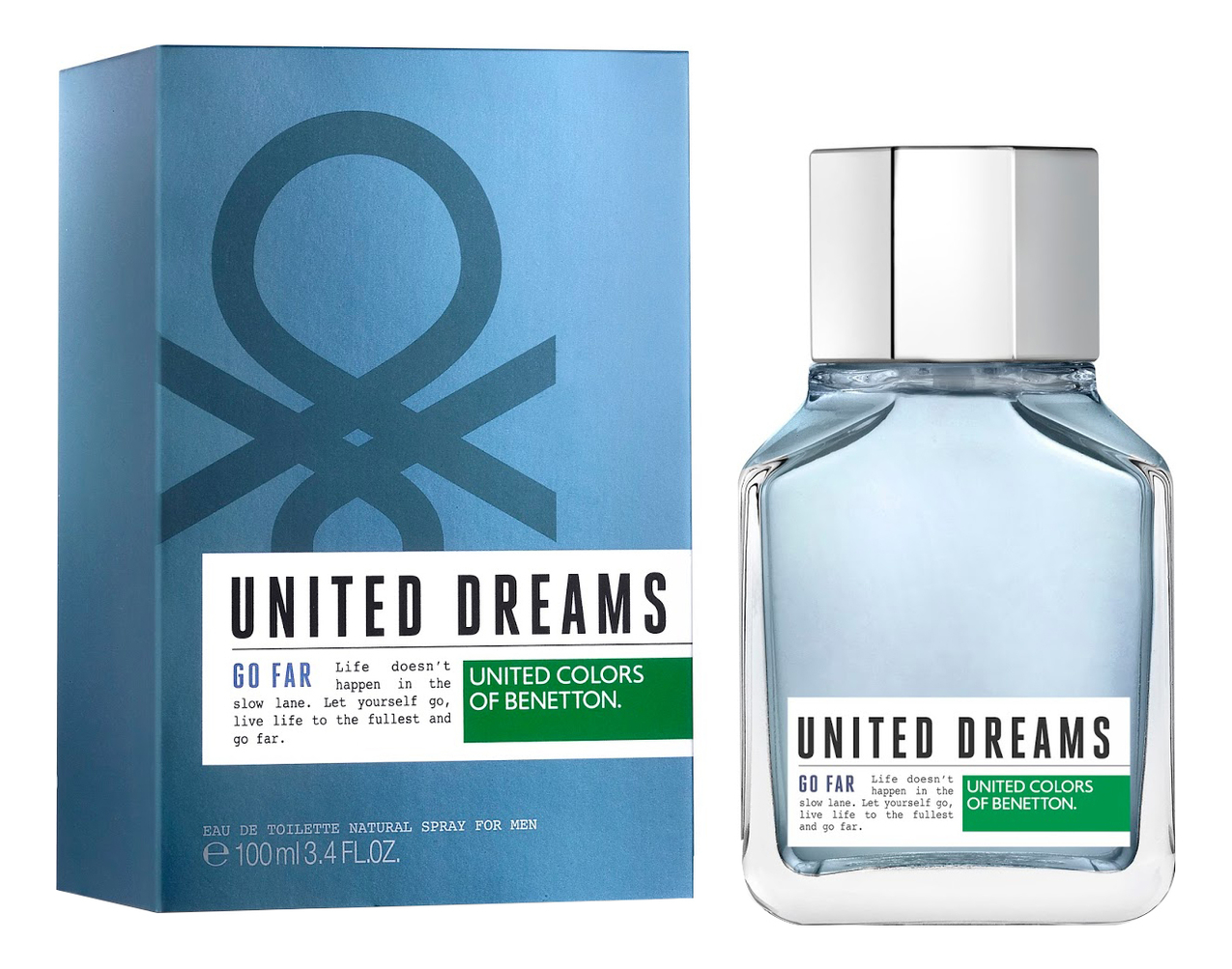 Купить United Dreams Men Go Far: туалетная вода 100мл, Benetton