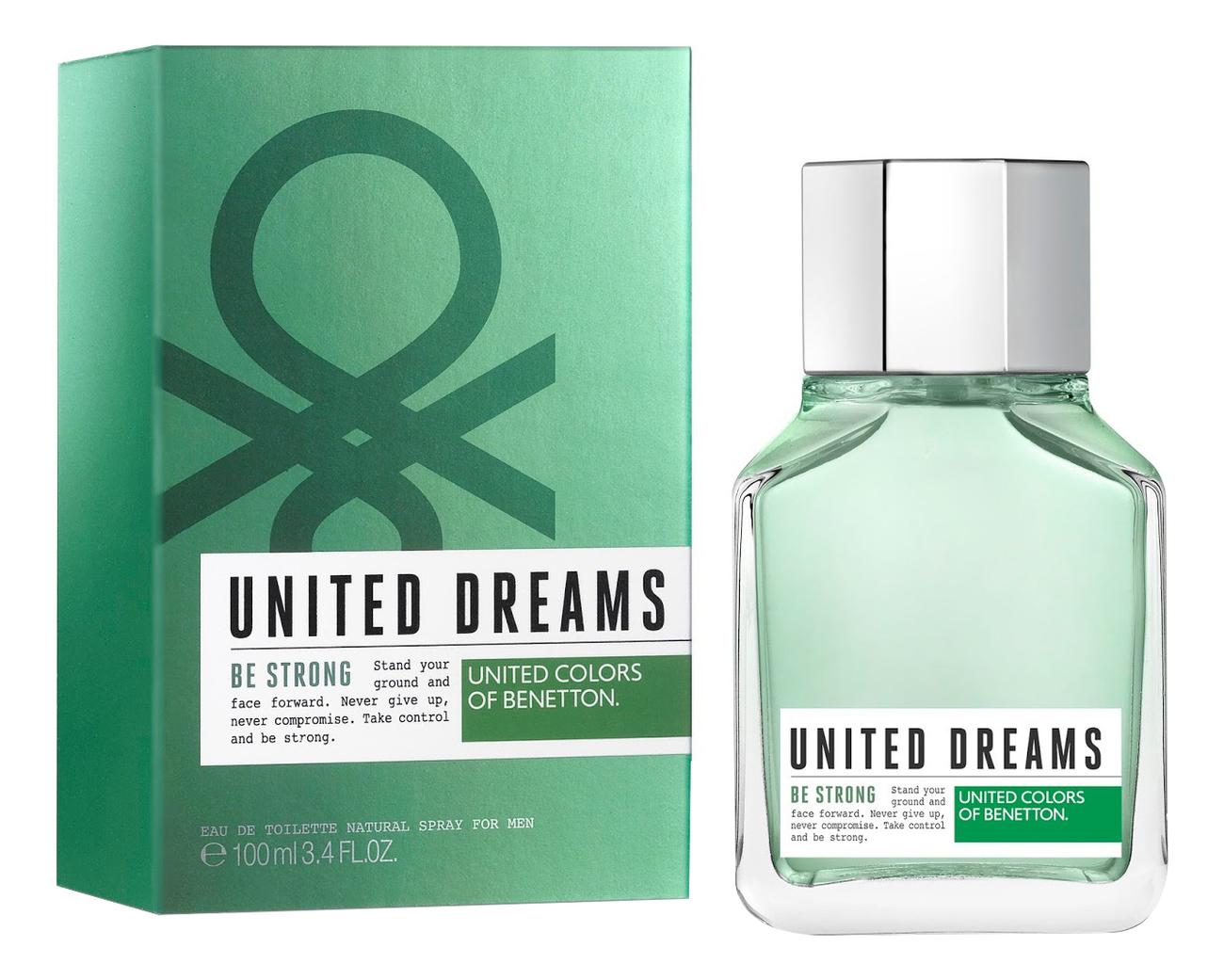 Benetton United Dreams Men Be Strong: туалетная вода 100мл