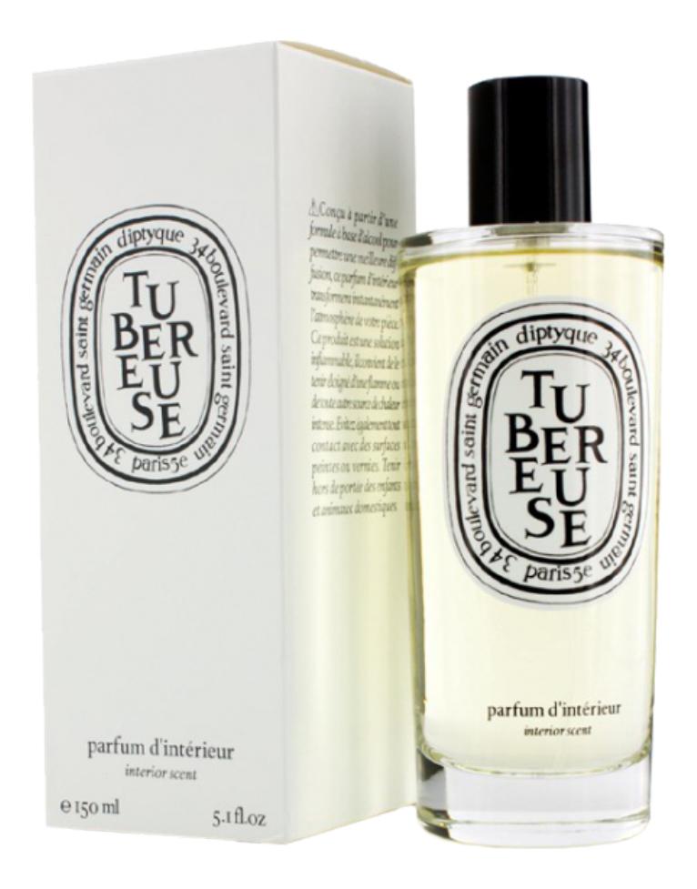 Diptyque Tubereuse Room Spray: ароматизатор для помещений 150мл diptyque feuille de lavande ароматизатор для помещений 150мл