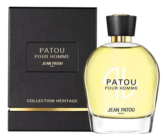 Купить Patou Pour Homme Heritage Collection: туалетная вода 100мл, Jean Patou