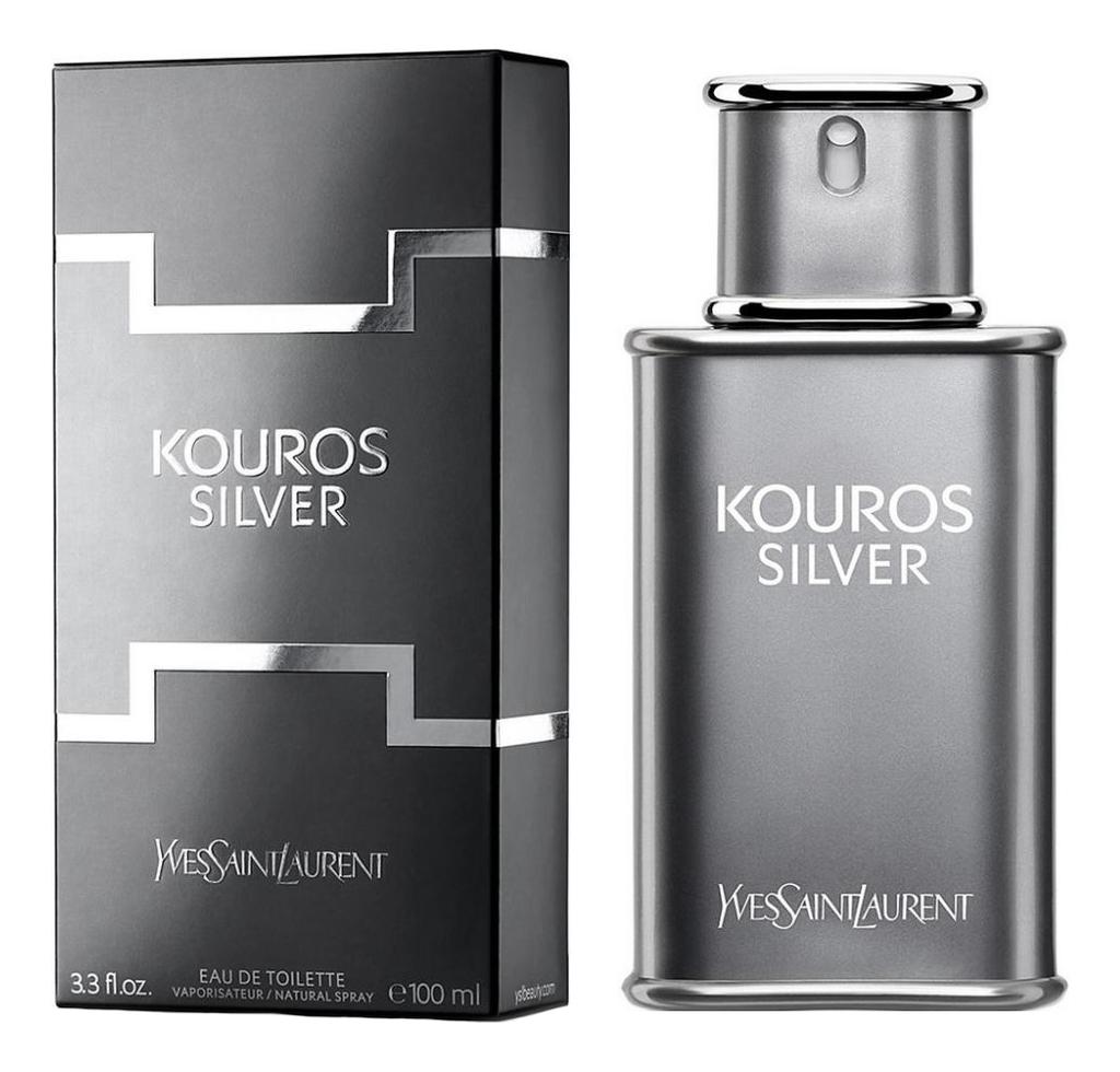 Kouros Silver: туалетная вода 100мл недорого