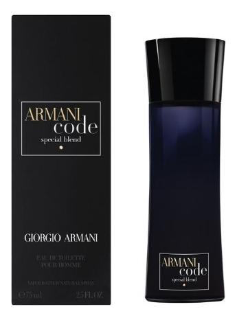Code Special Blend: туалетная вода 75мл туалетная вода giorgio armani armani code 75 мл