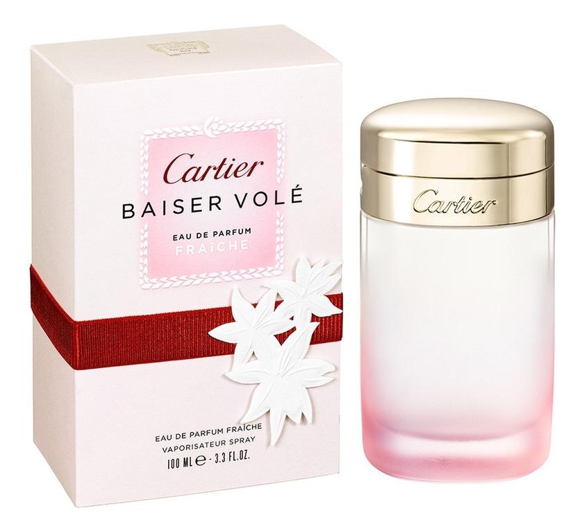 цена Cartier Baiser Vole Eau de Parfum Fraiche: парфюмерная вода 100мл онлайн в 2017 году