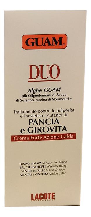 Крем для живота и талии с разогревающим эффектом Duo Pancia e Girovita 150мл гуам крем для живота