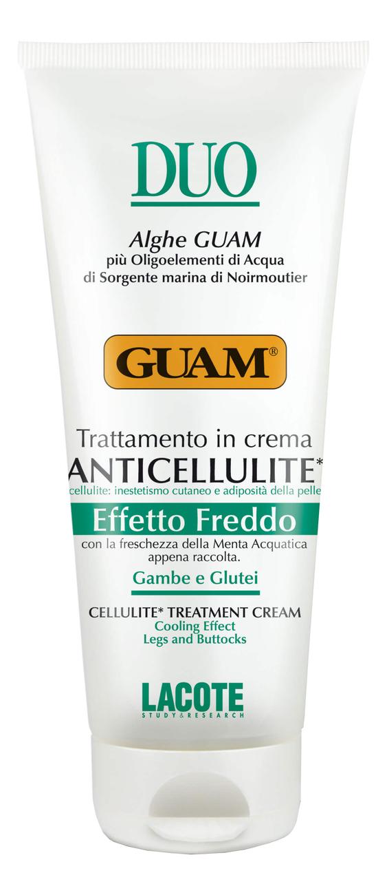 Крем антицеллюлитный с охлаждающим эффектом Duo Anticellulite Crema Effetto Freddo 200мл guam duo крем антицеллюлитный с охлаждающим эффектом 200 мл