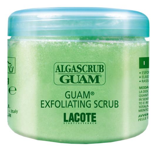 Скраб для тела увлажняющий Algascrub 700г guam algascrub скраб для тела баланс и восстановление 300 мл