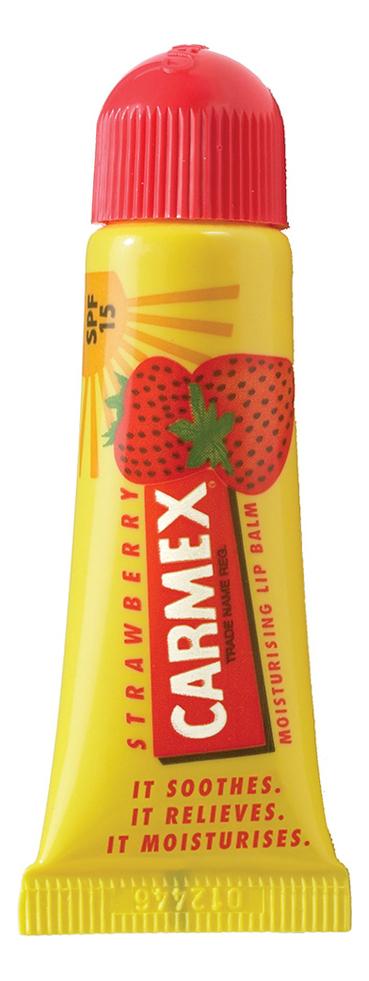 Фото - Бальзам для губ Lip Balm Tube Strawberry 10мл бальзам для губ lip balm tube strawberry 10мл