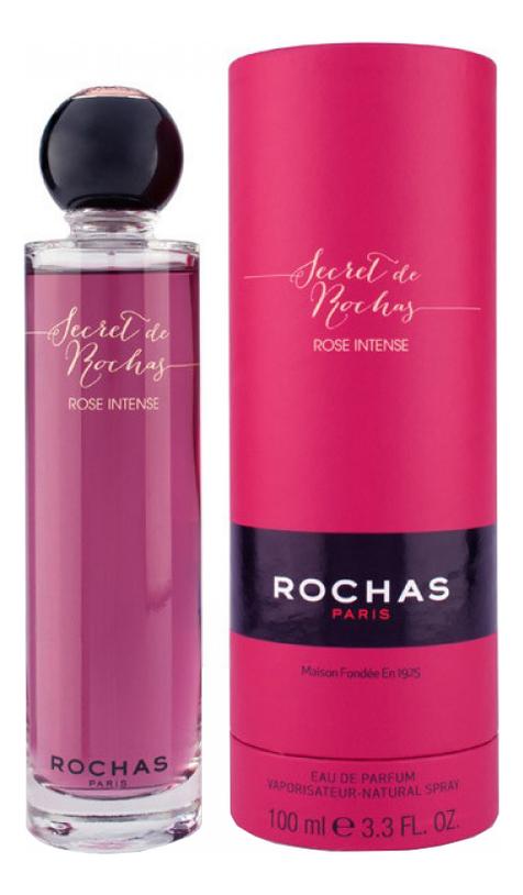 Фото - Rochas Secret de Rochas Rose Intense: парфюмерная вода 100мл rochas secret de rochas rose intense парфюмерная вода 100мл тестер