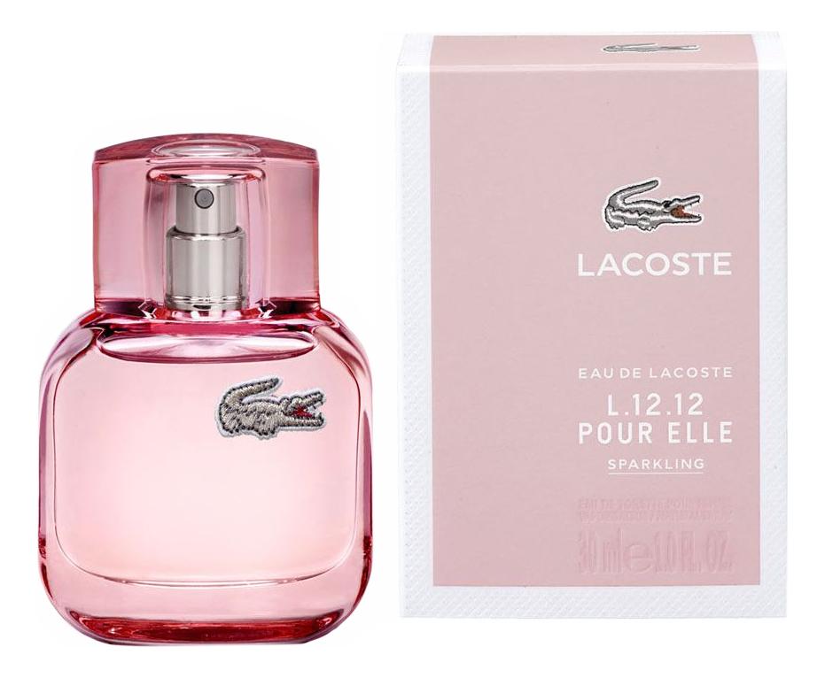 Lacoste Eau de Lacoste L.12.12 Pour Elle Sparkling: туалетная вода 30мл цена 2017
