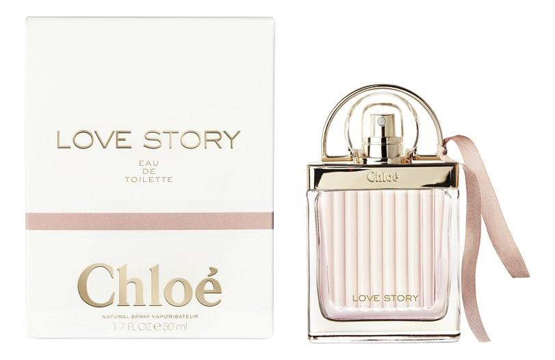 Chloe Love Story Eau de Toilette: туалетная вода 50мл chloe l eau de chloe туалетная вода спрей 30 мл