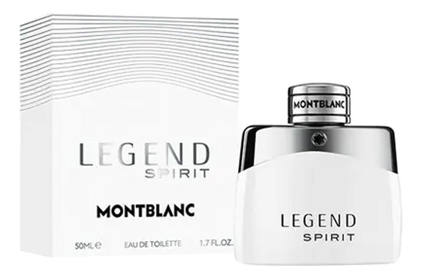 Mont Blanc Legend Spirit: туалетная вода 50мл mont blanc legend spirit туалетная вода 50мл