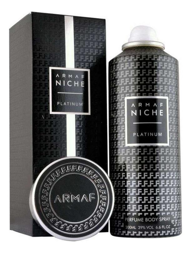 Armaf Niche Platinum: спрей для тела 200мл armaf enchanted aqua спрей для тела 200мл