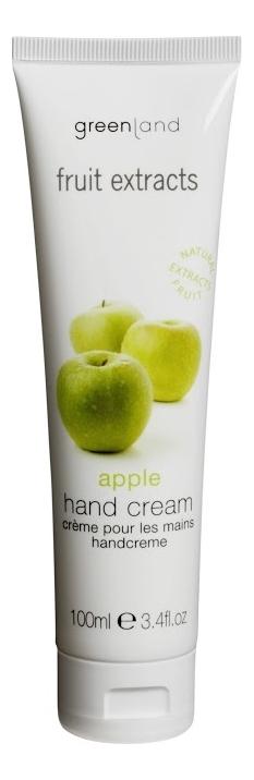 Крем для рук Fruit Extracts Hand Cream 100мл (яблоко)