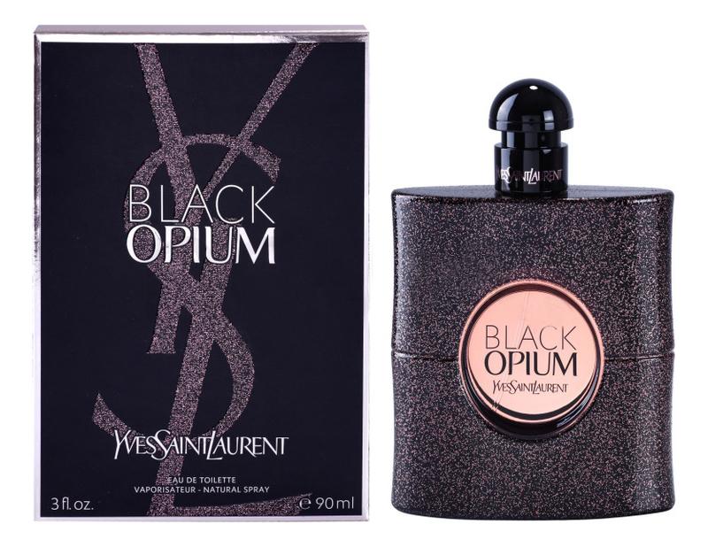 цена на YSL Black Opium Eau de Toilette: туалетная вода 90мл
