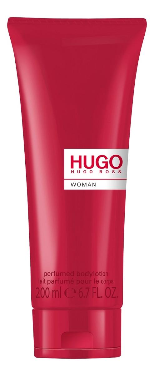 цена Hugo Boss Hugo Woman Eau de Parfum: лосьон для тела 200мл онлайн в 2017 году