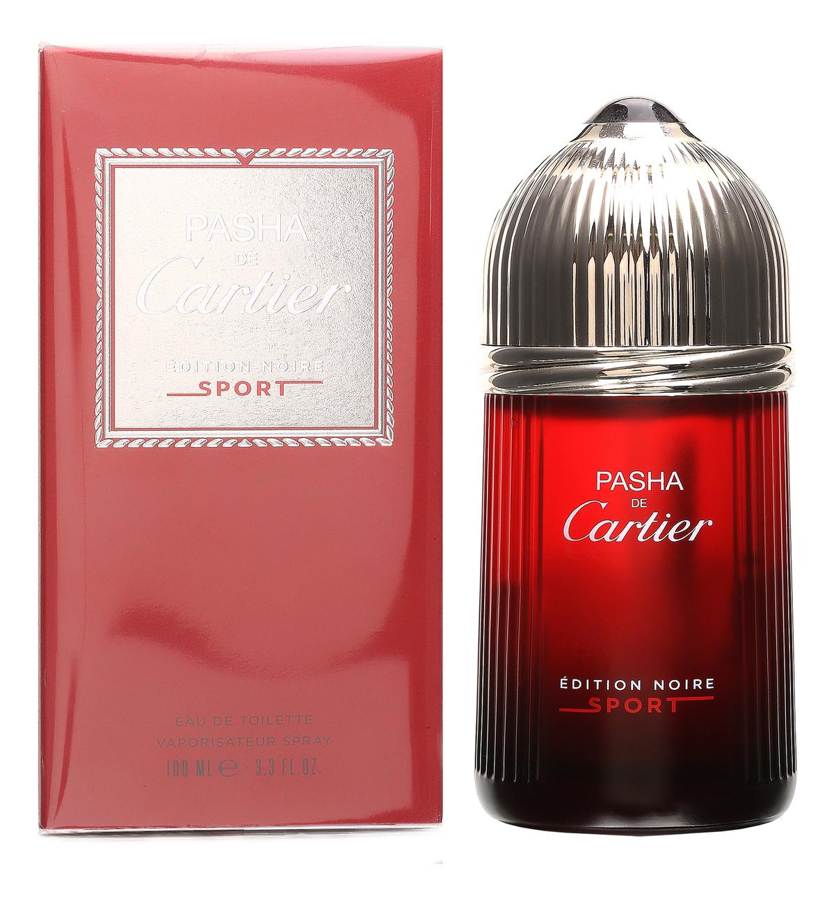 Pasha de Cartier Edition Noire Sport: туалетная вода 100мл