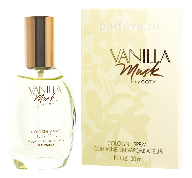 Coty Vanilla Musk: одеколон 30мл coty aspen discovery одеколон 50мл