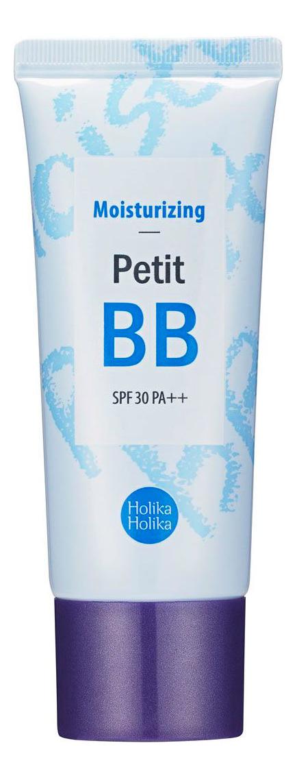 Купить BB крем для лица увлажняющий Petit BB Cream Moisturising SPF30 PA++ 30мл, Holika Holika