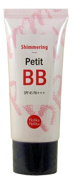 BB крем для лица Petit BB Cream Shimmering SPF45 PA++ 30мл (сияние) недорого