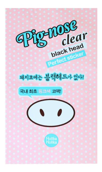 Очищающая полоска для носа Pig-Nose Clear Black Head Perfect Sticker 1шт