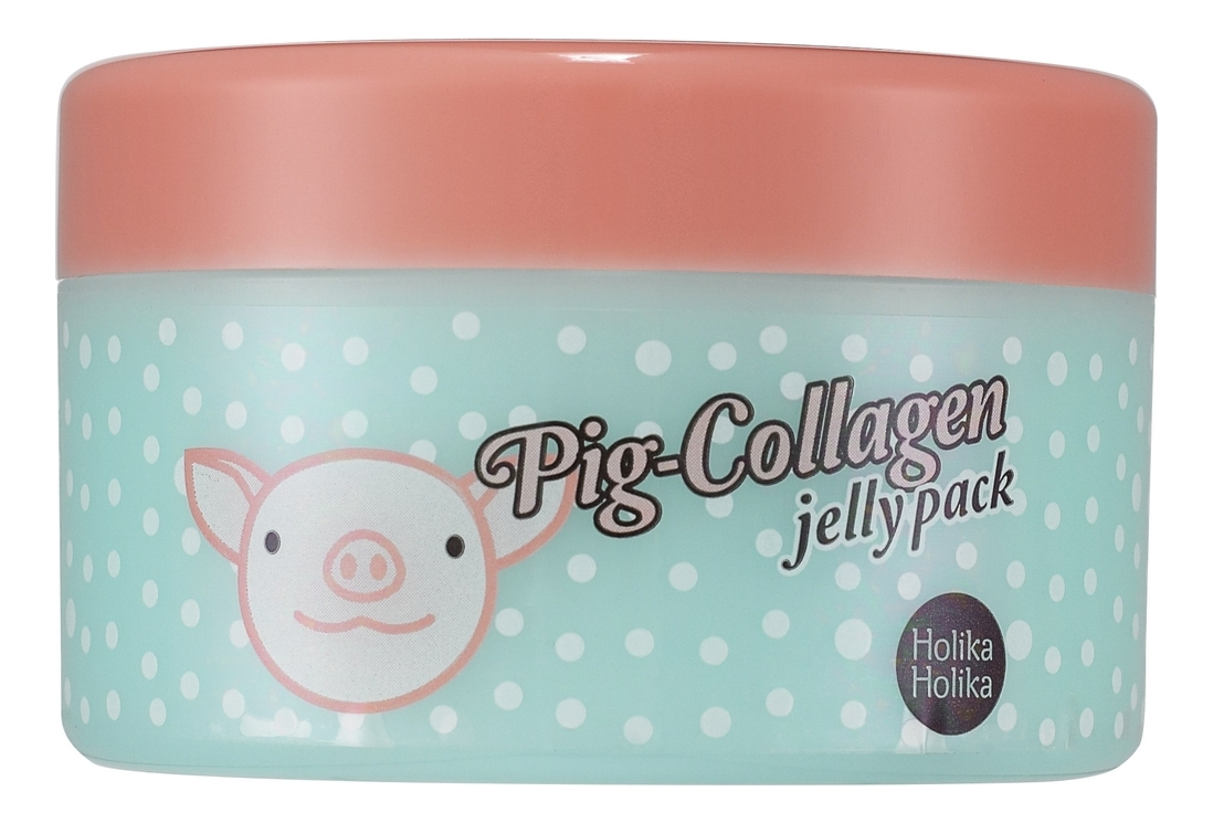 Ночная маска для лица Pig-Collagen Jelly Pack 80г pig collagen jelly cream