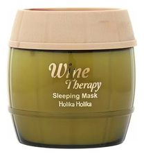 Holika Holika Ночная винная маска-желе для лица Wine Therapy Sleeping Mask White Wine 120мл (белое вино)