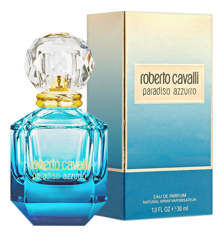 Купить Paradiso Azzurro: парфюмерная вода 30мл, Roberto Cavalli