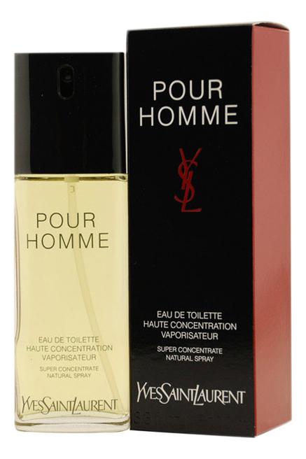 Купить Pour Homme Concentration: туалетная вода 100мл, Yves Saint Laurent
