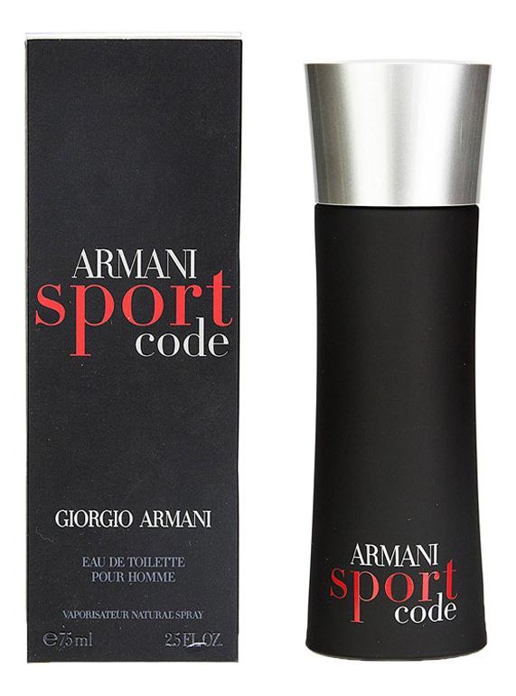 Купить Code Sport men: туалетная вода 75мл, Giorgio Armani