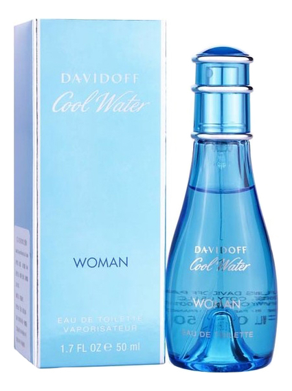 Davidoff Cool Water Woman: туалетная вода 50мл