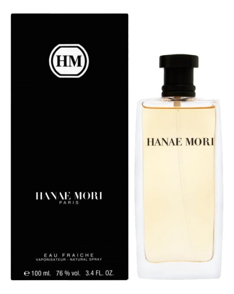 Hanae Mori Eau Fraiche for men: туалетная вода 100мл versace eau fraiche туалетная вода 30 мл