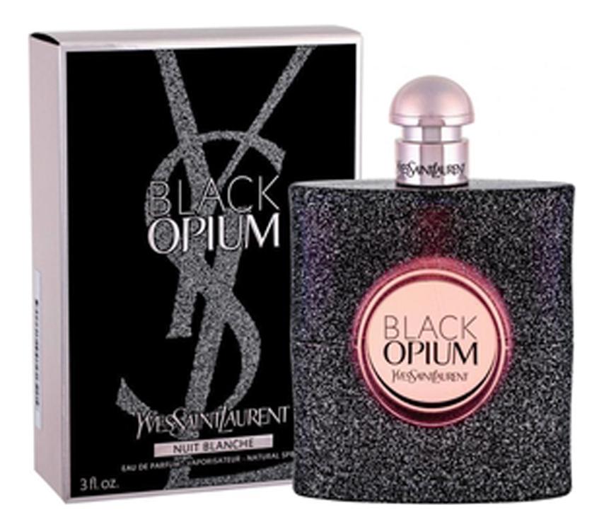 YSL Black Opium Nuit Blanche: парфюмерная вода 50мл ysl black opium collector edition 2018 парфюмерная вода 50мл тестер