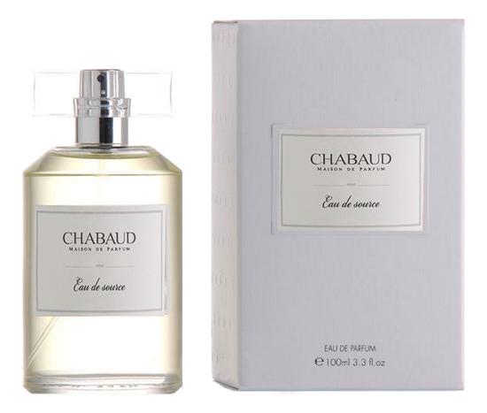 Chabaud Maison de Parfum Eau De Source: туалетная вода 100мл chabaud maison de parfum nectar de fleurs парфюмерная вода 100мл